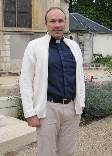 Священник Жорж Ванденбеш, похищенный в Камеруне. (архив)