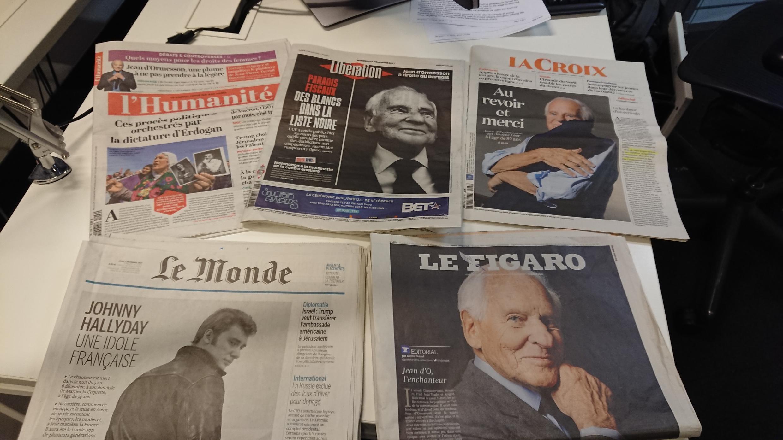 Diários franceses 06.12.2017