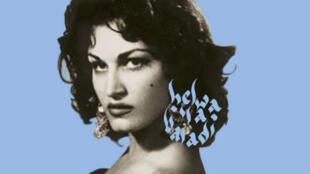 Couverture de Dalida en Égypte.