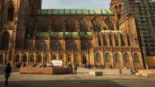 斯特拉斯堡大教堂 La cathédrale de Strasboug.