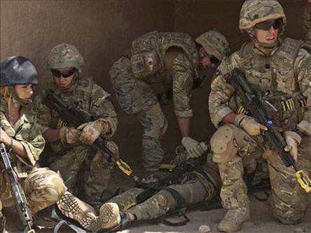 Wanajeshi wa NATO wakiwa kwenye Operesheni dhidi ya Makundi ya Wanamgambo nchini Afghanistani