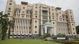 La Cour constitutionnelle du Gabon à Libreville. Photo prise le 25 janvier 2019. (Image d'illustration)