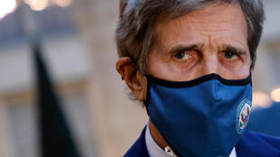 前國務卿、美國氣候特使約翰·克里 US Special Presidential Envoy for Climate John Kerry, seen in March 2021, will be the first official from President Joe Biden's administration to visit China
