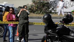L'attentat à la voiture piégée contre l'école de la police nationale colombienne, le jeudi 18 janvier 2019, à Bogota a fait au moins 21 morts et 68 blessés.
