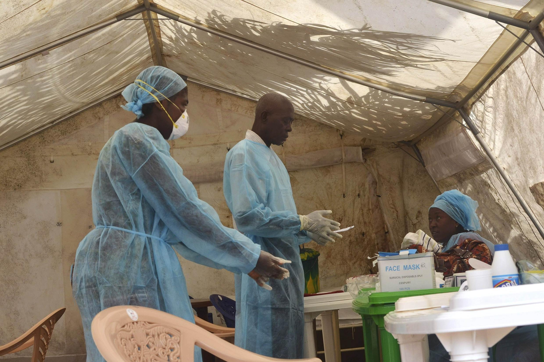 Jami'an yaki da cutar Ebola a Sierra Leone
