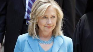 La secrétaire d'Etat américaine, Hillary Clinton.