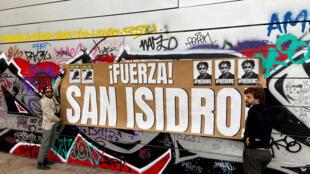San Isidro de La Habana, un colectivo de artistas, universitarios y periodistas que exige al gobierno cubano liberar a uno de sus miembros