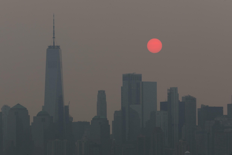 New York Fog Fumée Nevoeiro Fumaça