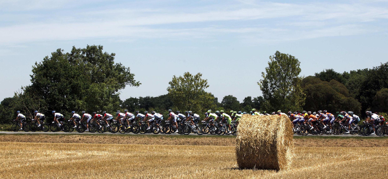 Третий этап гонки Тур де Франс в Олонн-сюр-Мер 04/07/2011