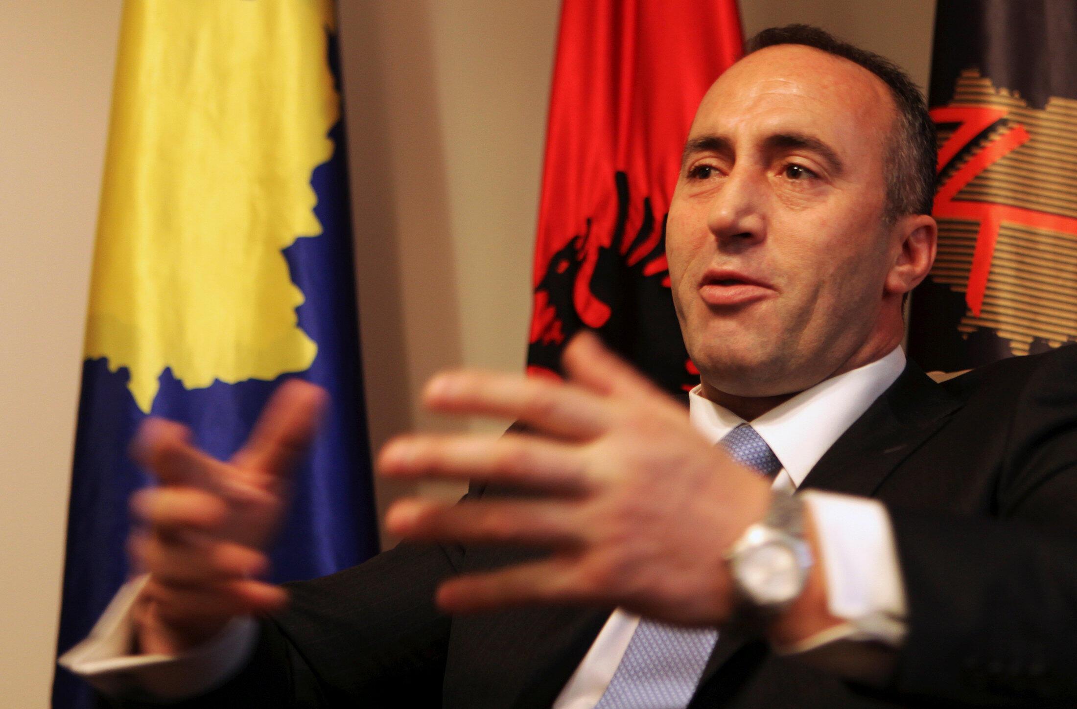 Ramush Haradinaj in 2012