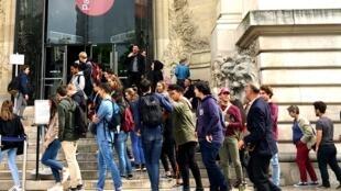 Парижский Дворец открытий, 4 апреля 2017
