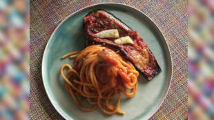 Le goût du monde - Pâtes - spaghetti et manzanela - manzanilla