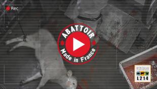 'Matadero Made in France', presentación de un video de L214.