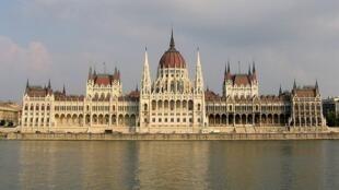 Batiment du parlement de Budapest.