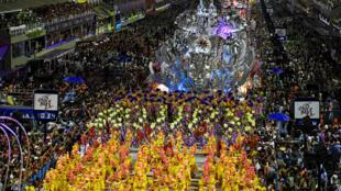 Carnaval do Rio de Janeiro foi adiado devido à pandemia de Covid-19.