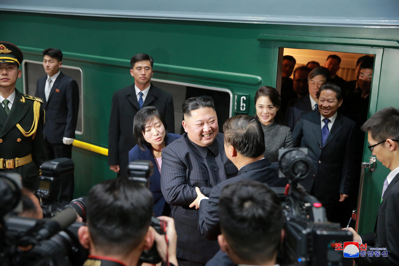 金正恩到訪北京 2019年1月10日