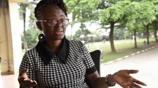 La periodista Tobore Ovuorie, el 16 de noviembre de 2020 en Ikeja, Nigeria.