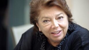 Leïla Chahid, le 6 novembre 2010 à Ajaccio.