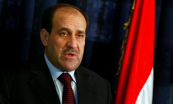 Le Premier ministre Nouri al-Maliki, en août 2007, alors qu'il est à l'apogée de sa popularité pour son combat contre les milices confessionnelles, sunnites ou chiites.