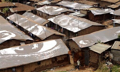 Mtaa wa Mabanda wa Kibera jijini Nairobi nchini Kenya