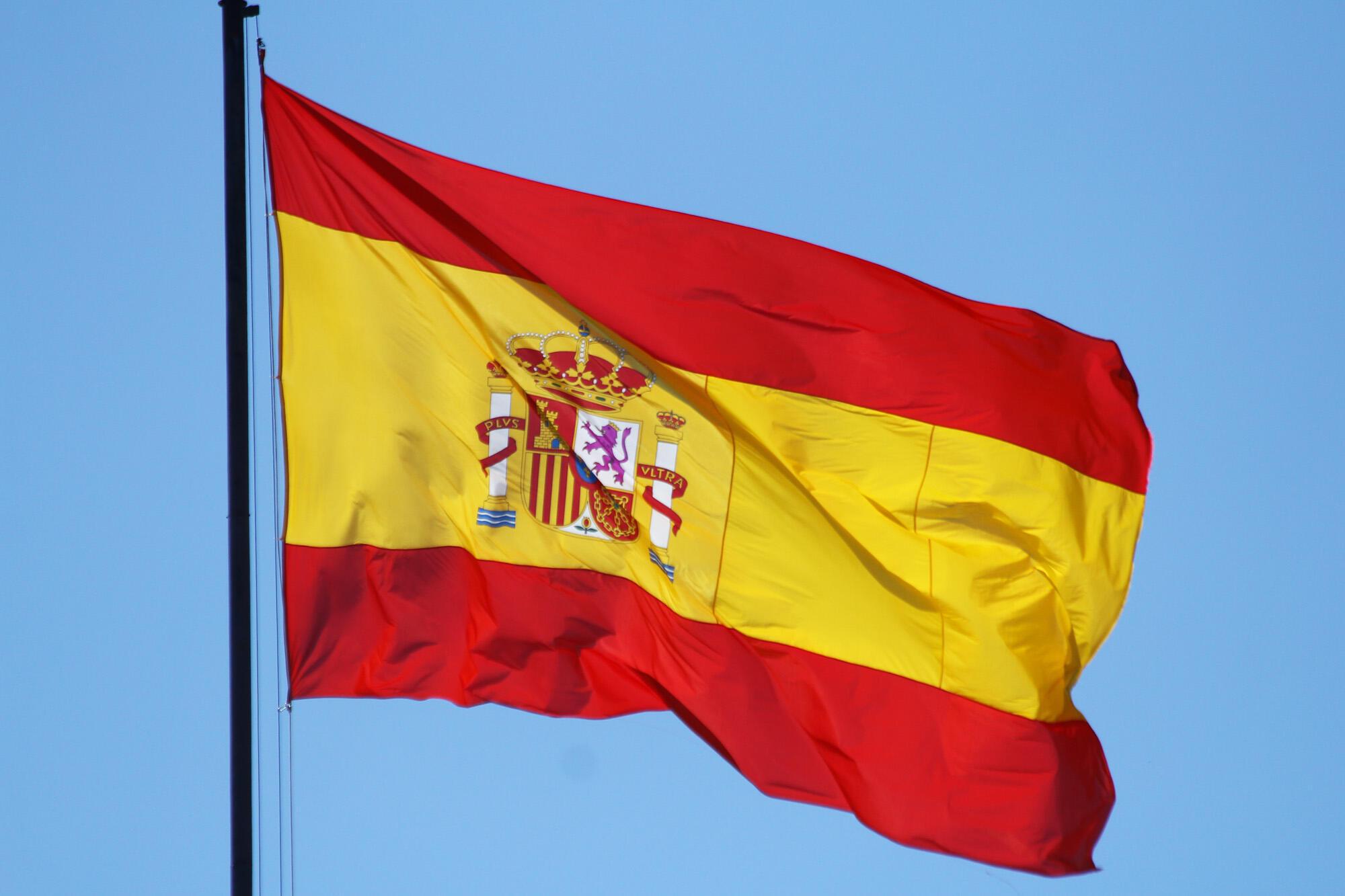L'hymne espagnol est l'un des symboles de la fédération espagnole avec le drapeau espagnol.