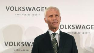 Matthias Müller é o novo PCA da Volkswagen