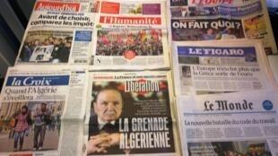 Diários franceses 15/04/2015