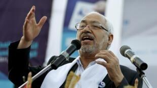 Le leader du parti islamiste Ennahda, Rached Ghannouchi