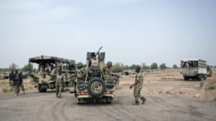 Askari wa jeshi la Nigeria wakipiga doria katika jimbo la Borno (picha ya kumbukumbu)