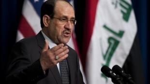Nouri al-Maliki, le Premier ministre irakien, à Washington le 12 décembre 2011.