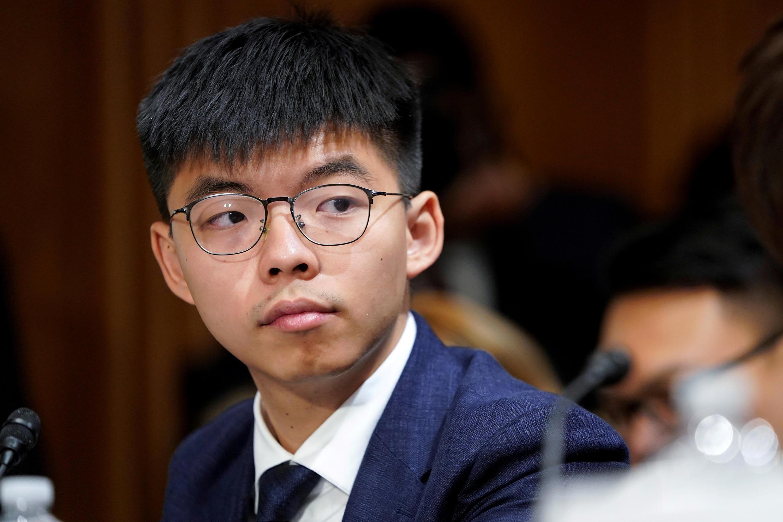 Hoàng Chi Phong, gương mặt tiêu biểu của phong trào đấu tranh dân chủ ở Hồng Kông, bị loại khỏi cuộc bầu cử Hội Đồng Lập Pháp.