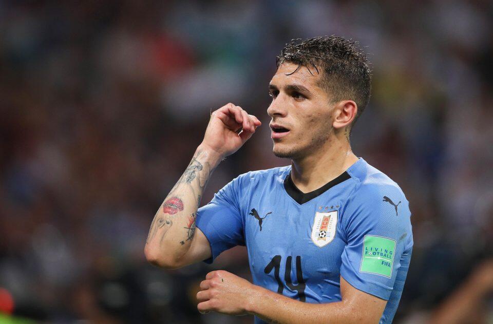 Mchezaji wa Timu ya Taifa ya Uruguay Lucas Torreira ambaye anatarajiwa kusajiliwa na Arsenal