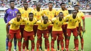 L'equipe nationale du Cameroun.