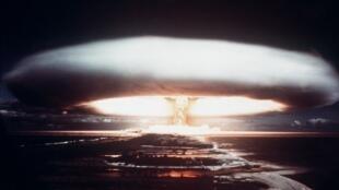 TROP PETITE POUR IMAGE PRINCIPALE 2019-12-02 france essai nucléaire français à Mururoa Polynésie 1971