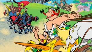 """Imagen de """"Astérix en Italia""""."""