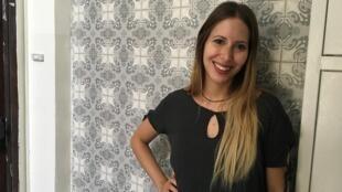Mariana Antoniuk, brasileira que trabalha na ONG Unitaf, em Israel