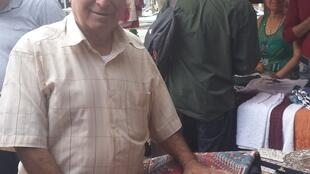 Назарет Ароян, продавец ковров и ювелирных изделий