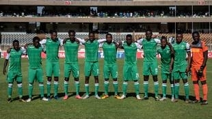 L'équipe kényane de Gor Mahia, en février 2019.