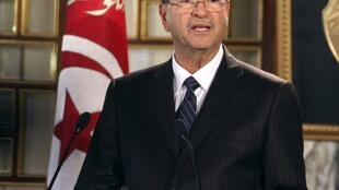 Le Premier ministre de Tunisie, Habib Essid.