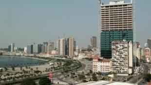 Baixa de Luanda, capital de Angola (imagem de ilustração)