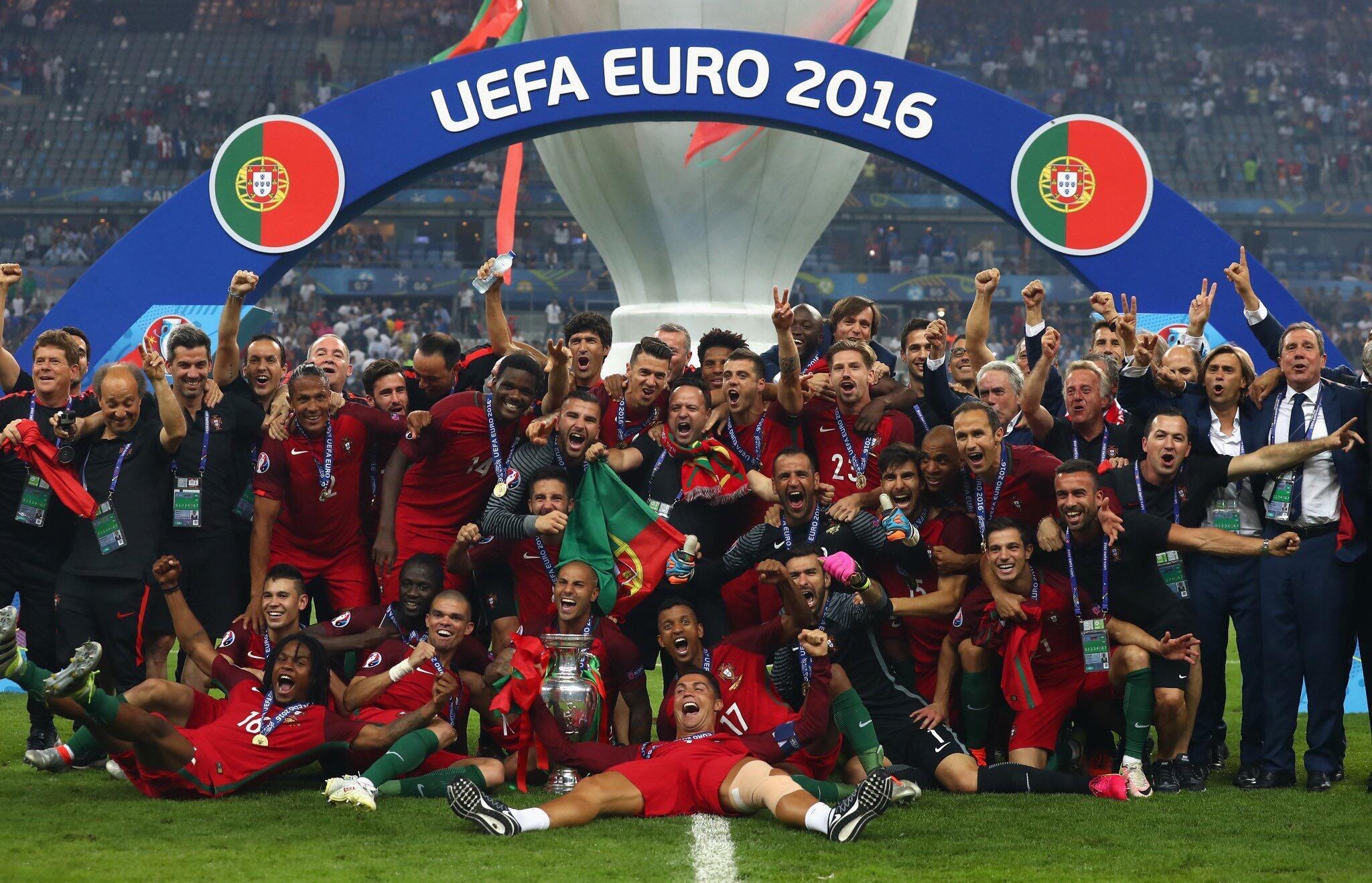 10 de Julho de 2016 : Portugal sagrava-se campeão da Europa