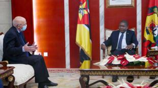 Filipe Nyusi  - Moçambique - Mozambique - Portugal - Augusto Santos Silva - Ministro - Presidente