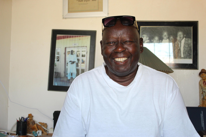 Oussou Ndiaye, ancien membre du groupe gambien Super Eagles.