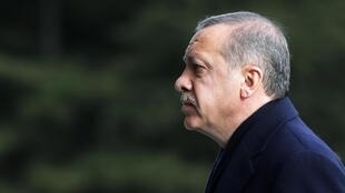 O primeiro-ministro turco, Recep Tayyp Erdogan.