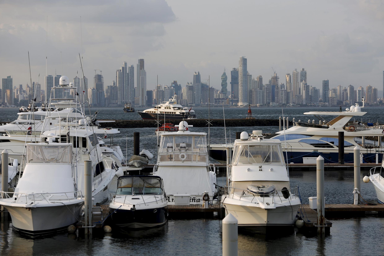 Một góc thiên đường thuế Panama.