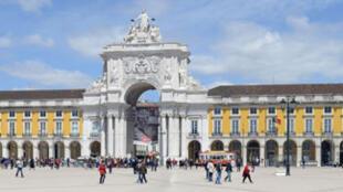 Une vue de Lisbonne, capitale du Portugal (Image d'illustration).