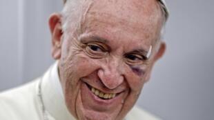 教皇方濟各結束訪問哥倫比亞2017年9月11日