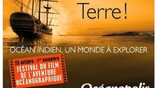 Affiche du Festival du film de l'aventure océanographique
