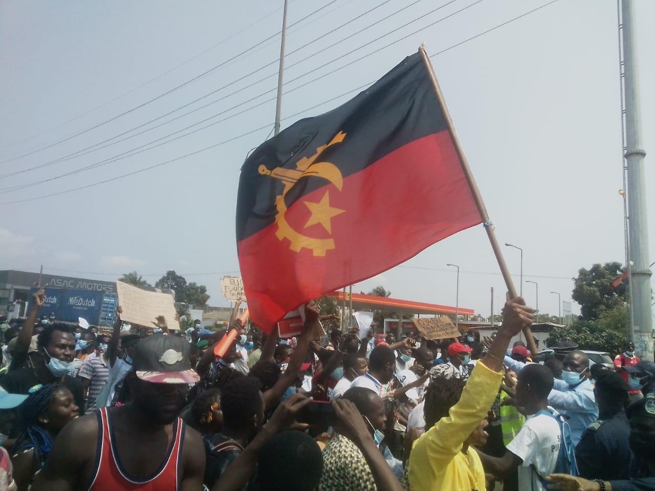 Manifestação Angola 29 de Setembro