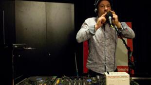 DJ Click au studio 136